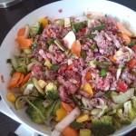 Gehakt met Italiaanse groente