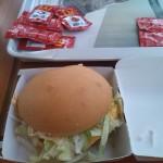 Glutenvrije Hamburger bij Mc Donalds Spanje